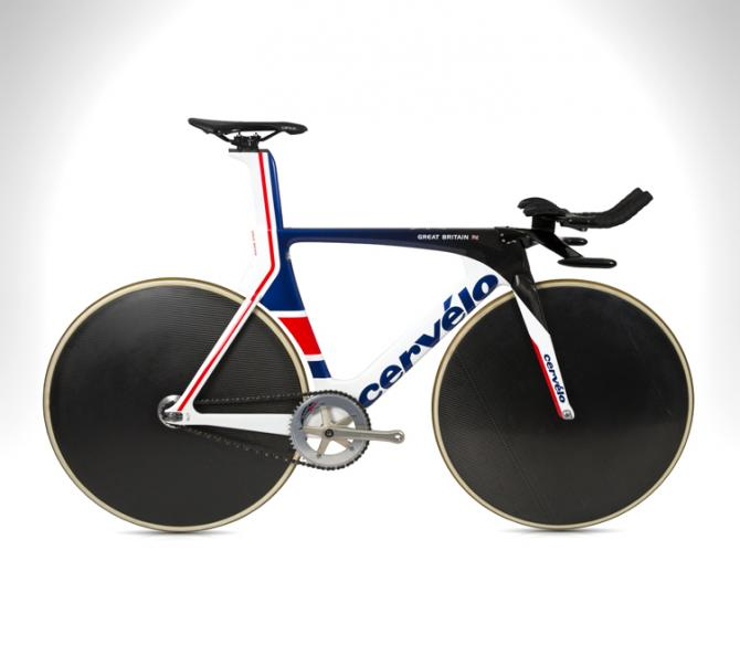 The Formula One inspired bike is set to put Team GB back on Track. (British Cycling)