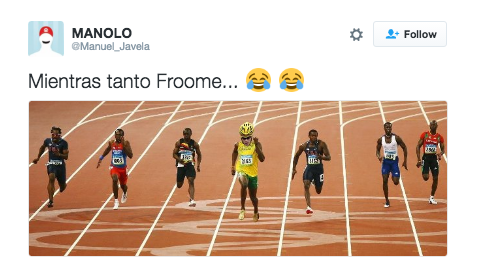 Chris Froome meme