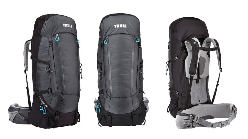 fa4410465b A deluxe weekend/weeklong gear hauler, the Thule Guidepost packs feature a  customizable TransHub suspension system to provide the perfect fit, ...