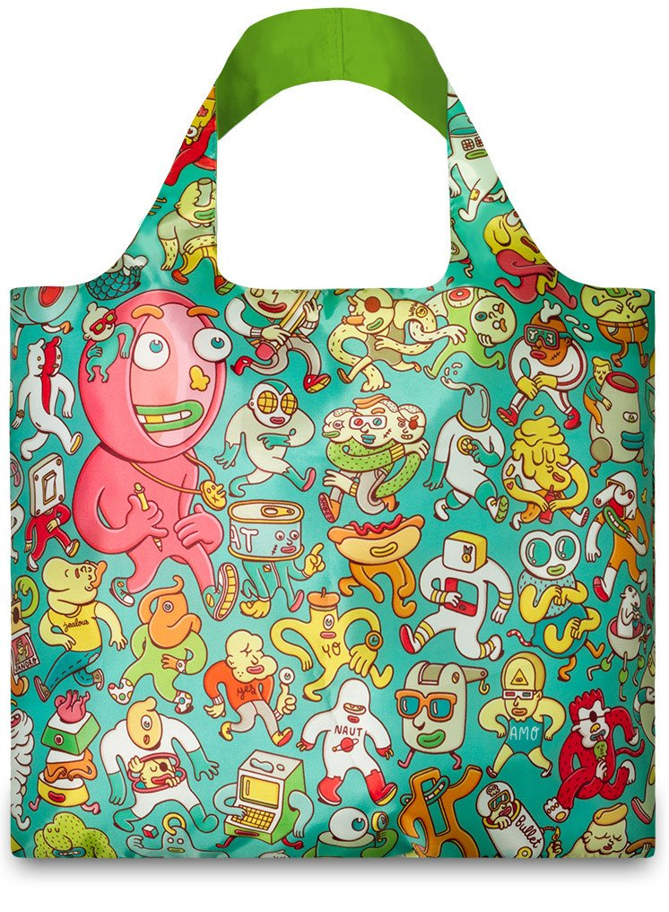 Loqi Artists Collection Folk By Brosmind Tote Bag
