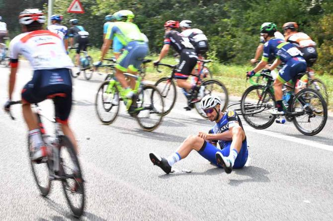 Fortunately, Tom Boonen escaped without injuries. (TDWSport.com)