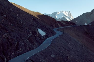 Col du Galibier in France reaches 2,646m at the peak. (Michael Blann)