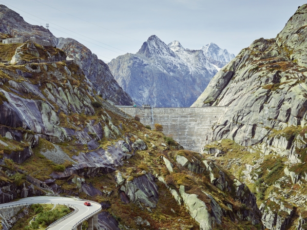 The Grimsel Pass is often featured in Tour de Suiss. (Michael Blann)
