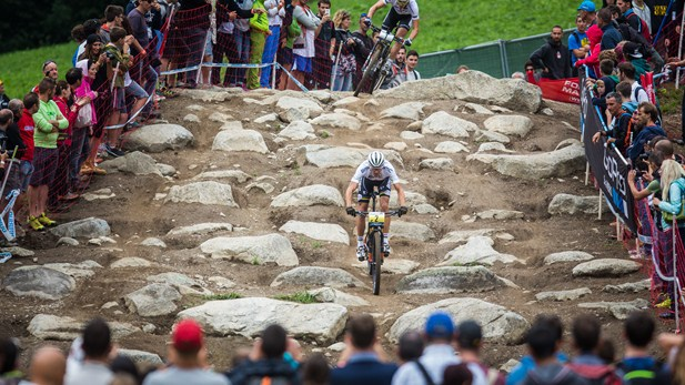 Val di Sole's DHI track - the Hell section ©Michal Červený