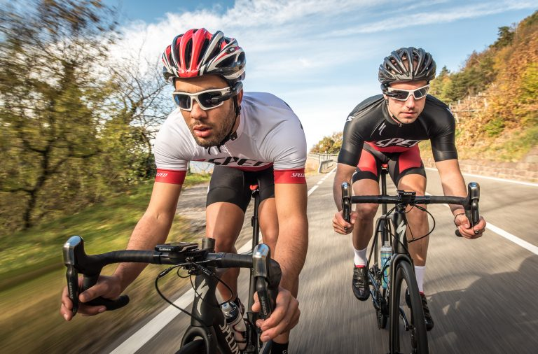 Wear Garmin's Varia Vision to keep an eye on your ride.