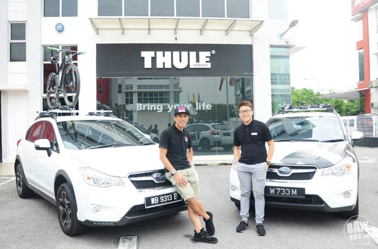 Thule South East Asia sponsors and collaborates with multisports and endurance athlete, Shahrom Abdullah