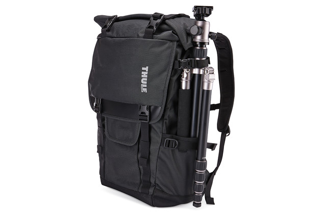 Multiple tripod carrying options.