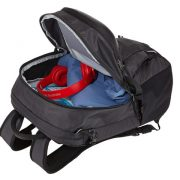 Large main compartment keeps daily gear separate from the electronics.