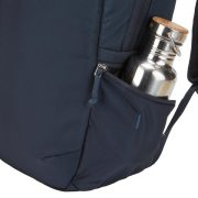Securely keep small items and a water bottle within reach in the expandable, zippered side pocket