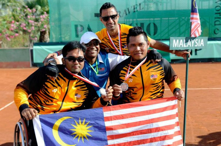 Support Wheelchair Tennis Malaysia in achieving their Bag Full of Dreams