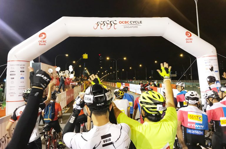 Scenic Sportive Ride at OCBC Cycle 2017