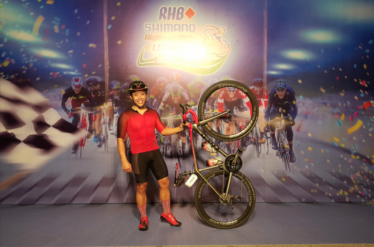 Exhilarating need for speed at the RHB Shimano Highway Ride at LEKAS 2018