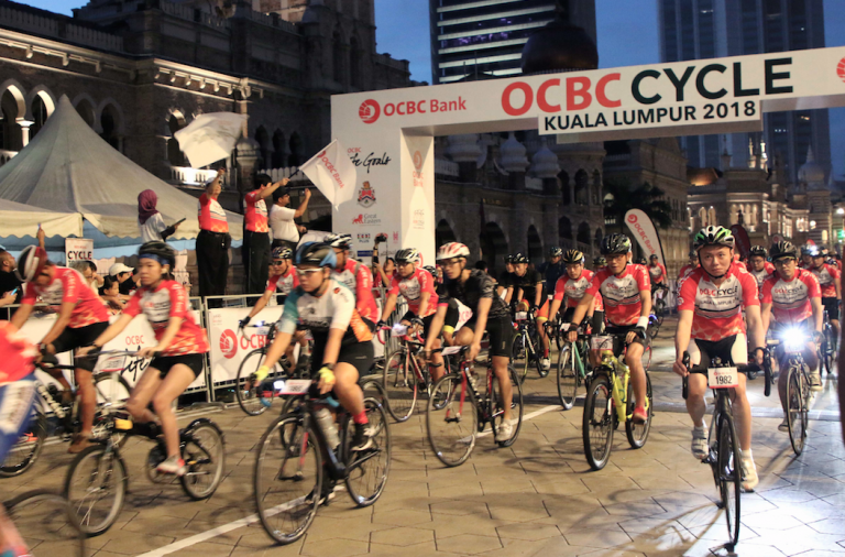 More than 2000 cyclists celebrate Togetherness at OCBC Cycle KL 2018
